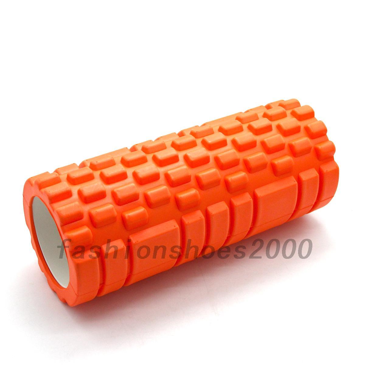 fitness yoga sport rollen foamroller foam roller schaumstoffrolle massagerolle ebay. Black Bedroom Furniture Sets. Home Design Ideas