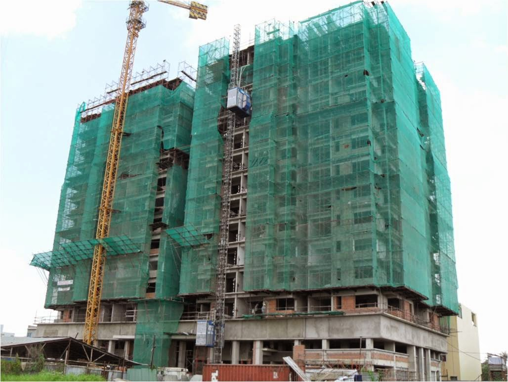 Hình ảnh quá trình xây dựng và hoàn công căn hộ Amber Court -  Dự án Biên Hòa City Square (2009-2012)