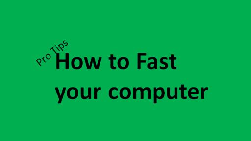 How to fast your computer . Pro tips....| কিভাবে স্লো হওয়া কম্পিউটারের গতি বৃদ্ধি করবেন। প্রো- টিপস