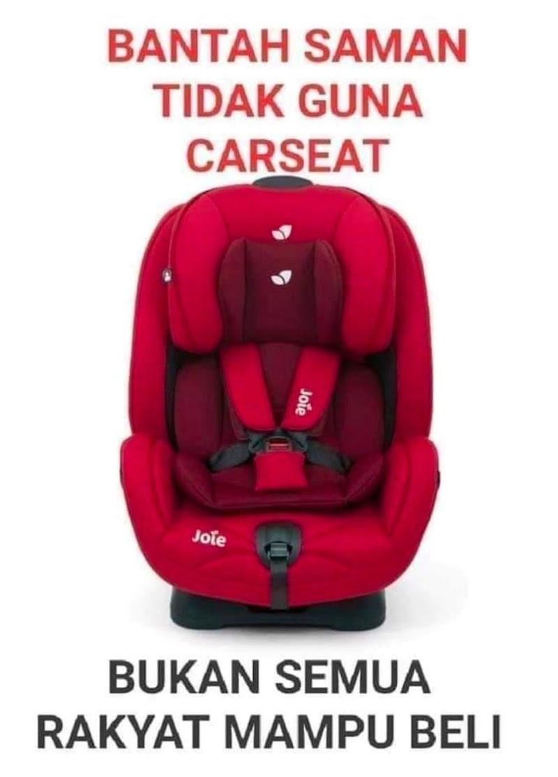 Bukan Semua Keluarga Mampu Beli Car Seat