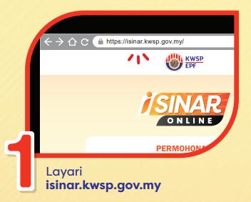 Dah mohon isinar secara online?