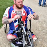 OIC - ENTSIMAGES.COM - Clive Smith Hand Cyclist  at the Prudential RideLondon Grand Prix 2016    in London  29th July 2016 Photo Mobis Photos/OIC 0203 174 1069