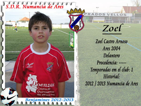 ADR Numancia de Ares. Zoel.