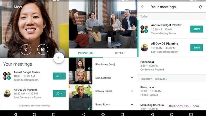 Best Zoom Alternative Apps Google Meet