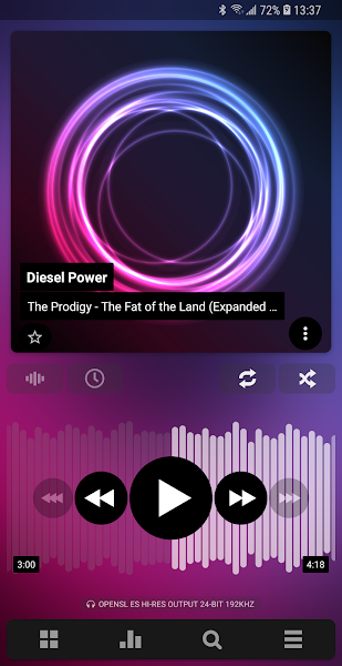 Poweramp Music Player Screenshot Image