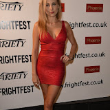 OIC - ENTSIMAGES.COM - Alexis Kendra at the Film4 Frightfest on Monday   of  Goddess of love  UK Film Premiere at the Vue West End in London on the 31st  August 2015. Photo Mobis Photos/OIC 0203 174 1069