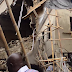 Five hospitalised as building collapses in Lagos