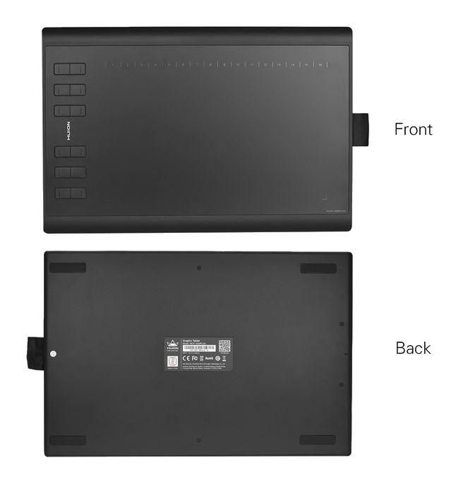 huion 1060plus tablette graphique de dessin portable 10 noir TABLETTE GRAPHIQUE سوق خليل