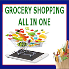 Grocery Shopping All In One icon