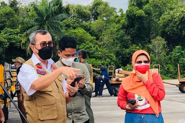 Presiden RI Joko Widodo Salurkan Bantuan Ke Provinsi Riau Guna Percepat Penanganan Wabah Covid-19
