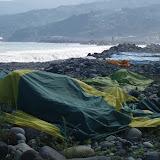 サマーキャンプのテント干し(8月28日)