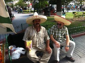 A mustache small talk in Chihuahua
