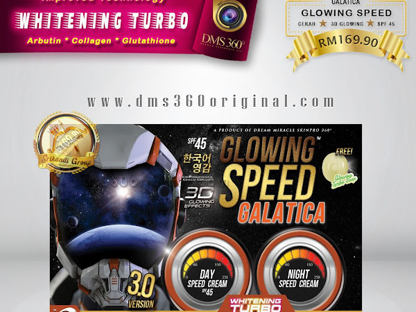 Glowing Speed Galatica By DMS360