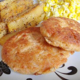 Southern Fried Salmon Patties.