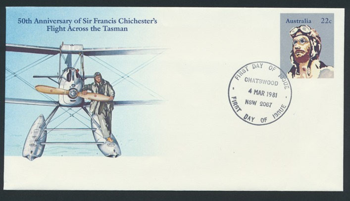chichester stamp-front