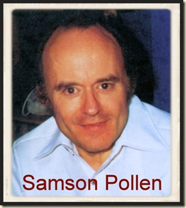 Artist Samson Pollen, polaroid photo