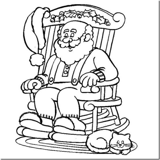 Disbujos de Navidad para colorear