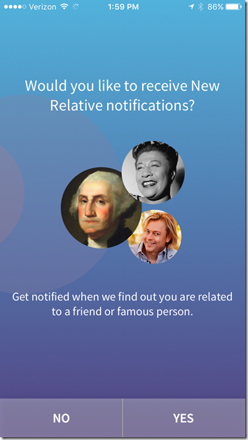 We're Related - Notification Query