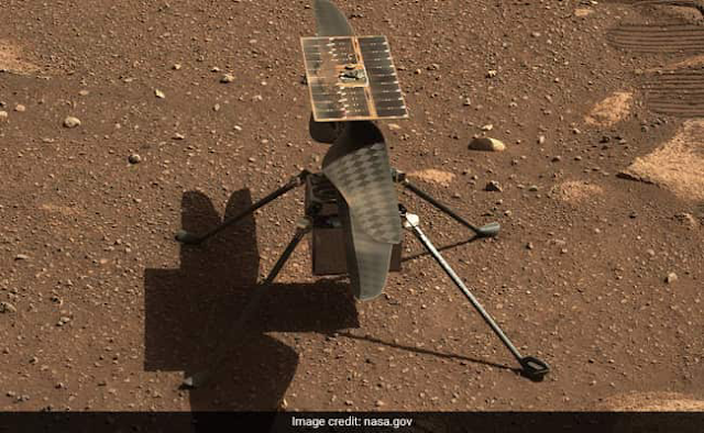 NASA's Tiny Helicopter Is Still Flying High After Six Months On Mars