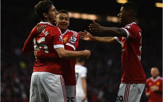 Manchester United 2-0 Crystal Palace Highlights (2016 EPL)