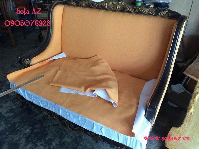 May bọc ghế sofa vải Bọc ghế salon cổ điển Tân Bình