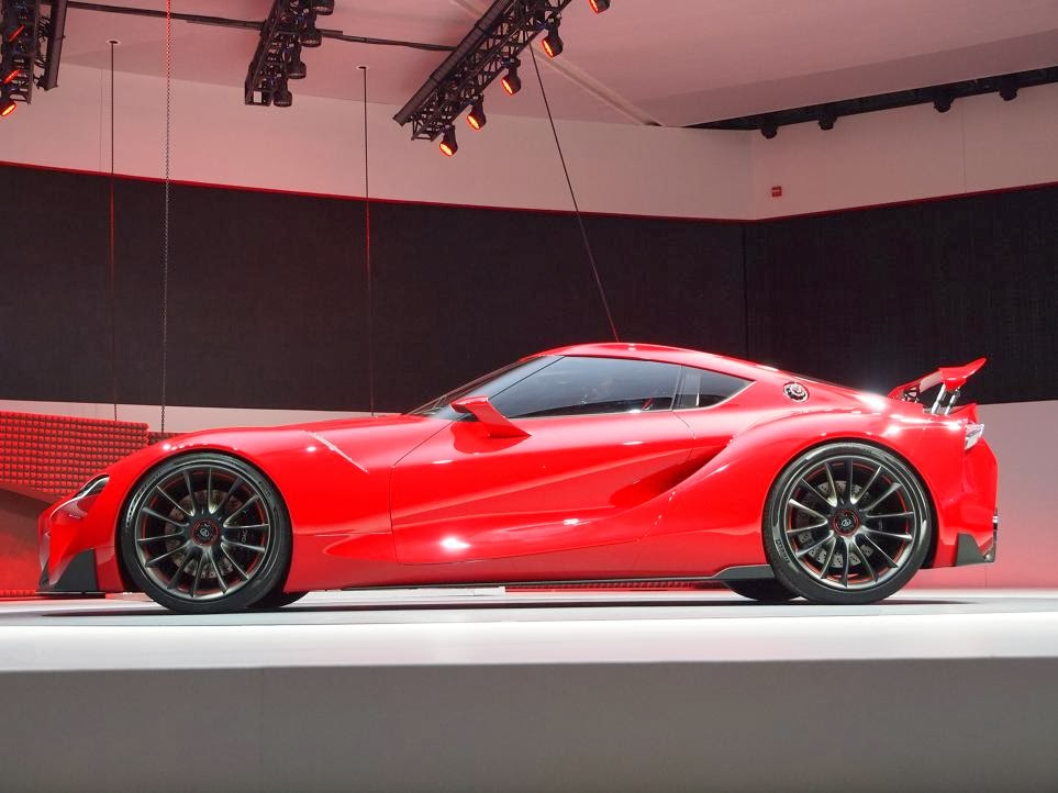 Toyota FT-1 Concept Unveiling 3