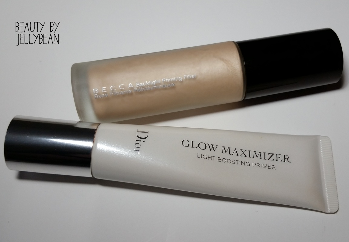 Glowing Primers: Becca Backlight Priming Filter and Dior Glow Maximizer Primer