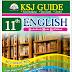11 TH STD ENGLISH.. QUIDE KSJ PUBLICATIONS..