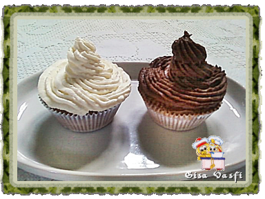 Buttercream básico e de chocolate