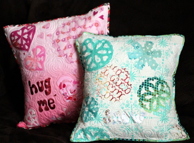 decofoil pillows