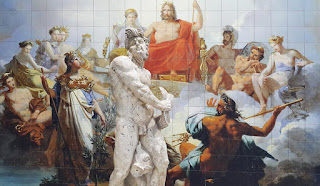 Greek Statues of All Gods