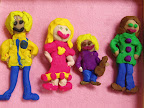 My Family in Clay by Anna