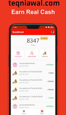 Buzzbreak - تطبيقات لربح المال 2021