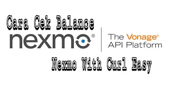 Cara Cek Balance Nexmo With Curl Easy