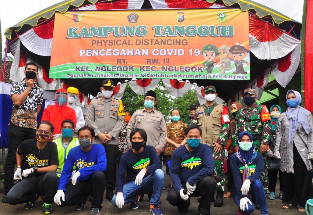 Dandim 0808/Blitar Siap Dukung Program Kampung Tangguh Bencana