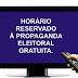 Propaganda eleitoral no rádio e TV só pode ser feita até hoje