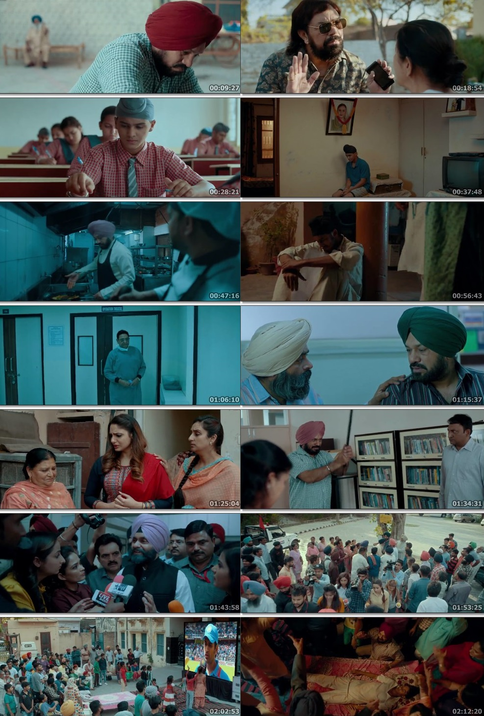 Screen Shot Of Son of Manjeet Singh 2019 300MB HDRip 480P Full Punjabi Movie Watch Online Free Download