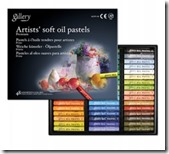 llc soft oil pastels round