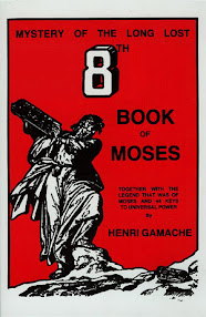 Cover of Ancient Grimoires's Book The 8th Book Of Moses