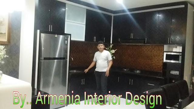 Contoh Gambar Kitchen Set Tinggi Sampai Plafon Cikarang Baru