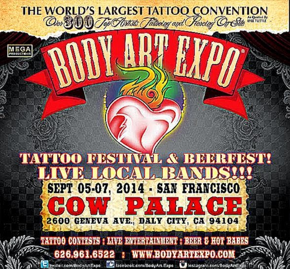 Body Art Expo   Shows San Francisco