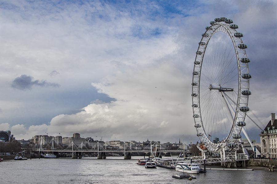 """London Eye de Londres"