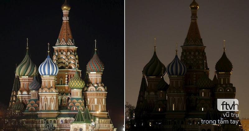 Những công trình nổi tiếng thế giới tắt đèn hưởng ứng Giờ Trái Đất