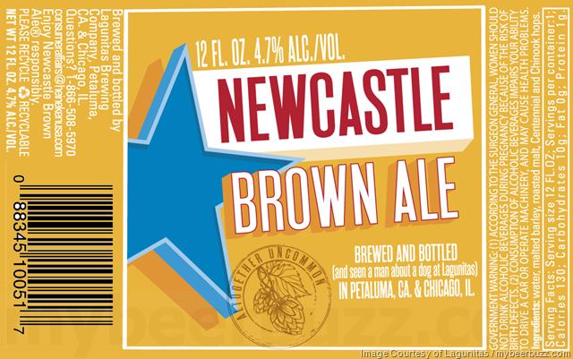 Newcastle Brown Ale Being Brewed At Lagunitas