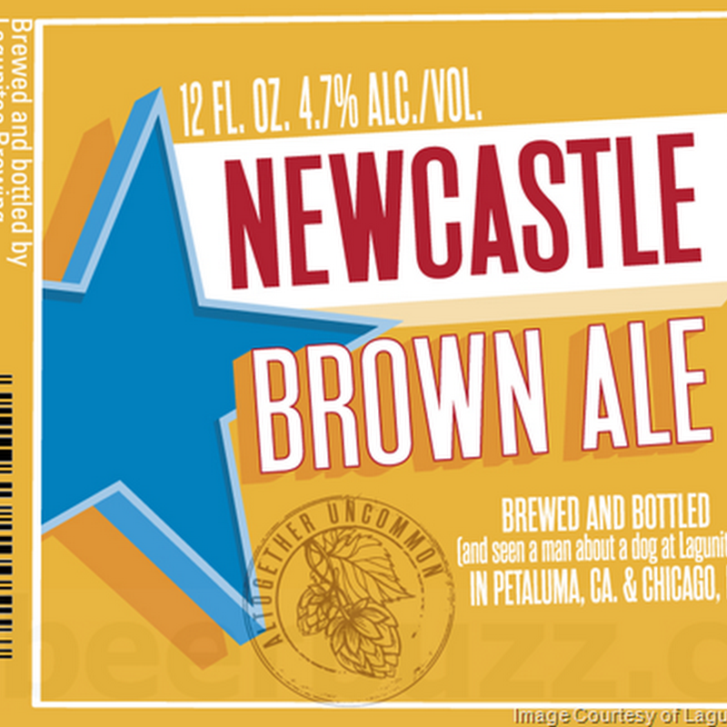 Newcastle Brown Ale Being Brewed At Lagunitas