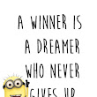 Motivational quote 2016 minion