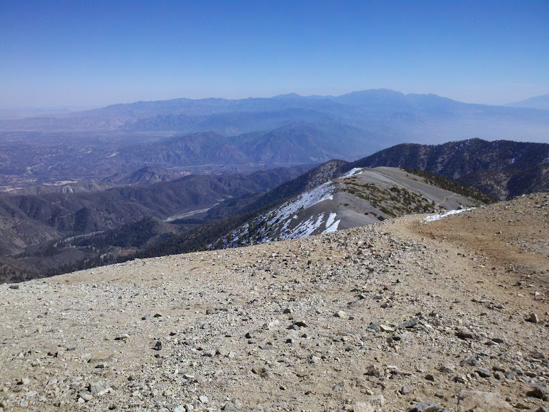 Mount Baldy • View of Mount Harwood
