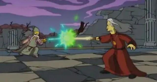 Todos os episódios em que os Simpsons mencionaram Harry Potter