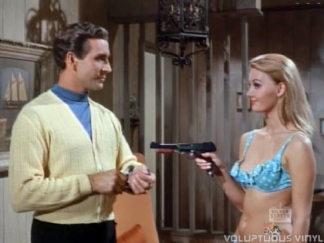 Peter Mark Richman and Barbara Bouchet