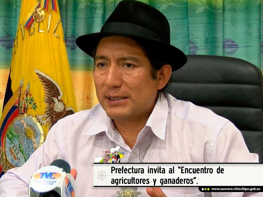 PREFECTURA INVITA AL ENCUENTRO DE AGRICULTORES Y GANADEROS